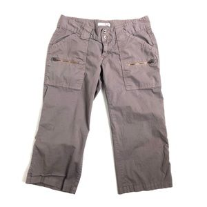 Joie pants cargo khakis brown 8 outdoor hiking